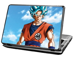 Skin Para Notebook - Goku sayajin Blue - Dragon Ball Super