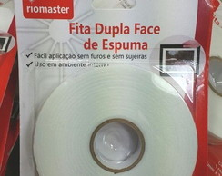Fita Banana Dupla Face De Espuma 3,8 Mts Para Scrap 17mm