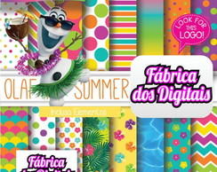 Kit Papel Digital - Festa Havaiana