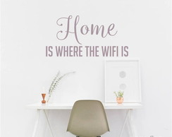 Adesivo home is wifi is
