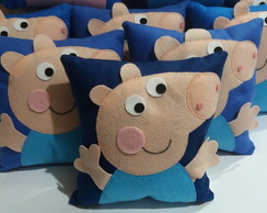 Mini Almofadas Peppa e George Pig