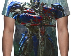 Camiseta Transformers Optimus Prime 02 - Estampa Total
