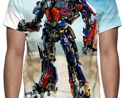 Camiseta Optimus Prime Mod 04 - Estampa Total