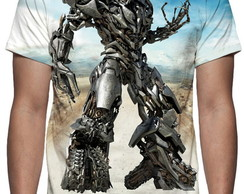 Camiseta Transformers Megatron - Estampa Total