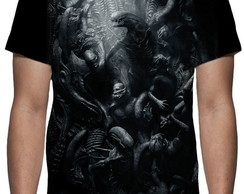 Camiseta Alien Covenant - Estampa Total