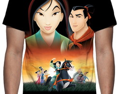 Camiseta Disney Mulan - Estampa Total