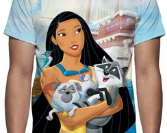 Camiseta Disney Pocahontas 2 - Estampa Total