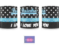 Caneca PAINHO I LOVE YOU Personal Presentes