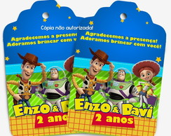 Tag Toy Story personalizada