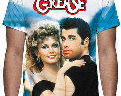Camiseta Grease nos Tempos da Brilhantina - Estampa Total