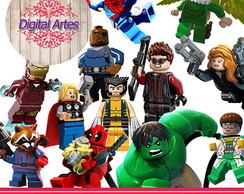 Kit Digital Lego Marvel