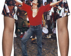 Camiseta Michael Jackson Olodum - Estampa Total