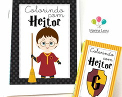 Kit Colorir - Harry Potter