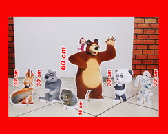 display masha eo urso de mesa 60 cm