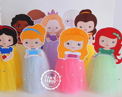 Tubete Princesas Disney Cute