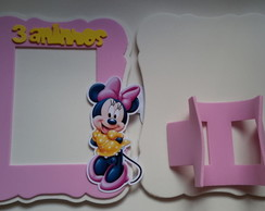 porta retrato minnie rosa