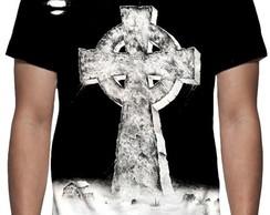 0ca68ca396eeb ... Camiseta Black Sabbath - Headless Cross - Estampa Total