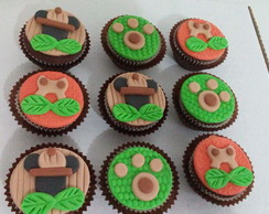 Cupcake Mickey Safari