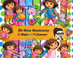 Kit Digital | Dora Aventureira