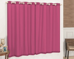 Cortina 2,00x2,50 Blackout - Pink