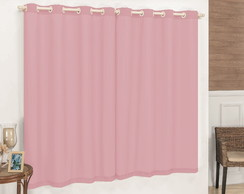 Cortina 2,00x2,50 Blackout - Rosa