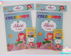 Kit Colorir Ariel Cute