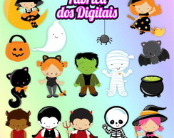 Kit Digital - Halloween / Dia das Bruxas 3