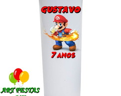 Copo Long Drink 330 ML Super Mario