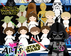 STAR WARS - Kits Scrapbook Digital