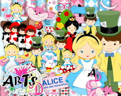 ALICE - Kits Scrapbook Digital