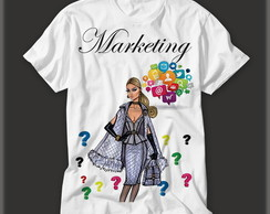 Camisetas Personalizada Profissão Marketing!