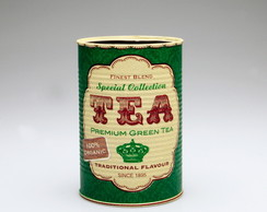 Lata Decorativa Tea
