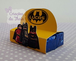 Porta chocolate duplo Lego Batman