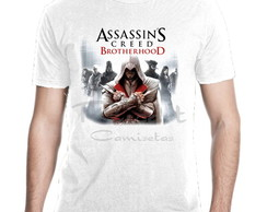 Camiseta Assassin's Creed Jogos Games Mod 01
