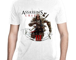 Camiseta Assassin's Creed Jogos Games Mod 02