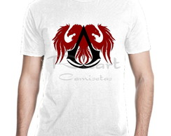 Camiseta Assassin's Creed Jogos Games Mod 03