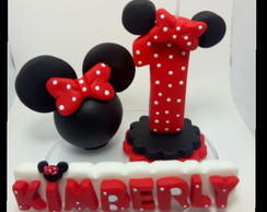 Vela Biscuit Minnie - Modelo 2
