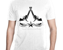 Camiseta Assassin's Creed Jogos Games Mod 04