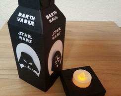 Luminaria Lado Negro Star Wars