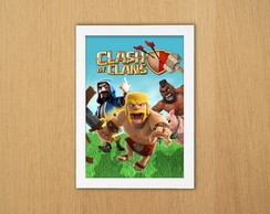 Quadro Clash of Clans