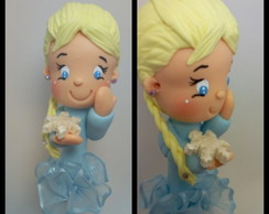 Caneta Biscuit Personagens - Frozen Elsa