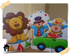 Kit Display de Chão para Festa Infantil Circo (8)