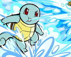 Squirtle - Bolhas!