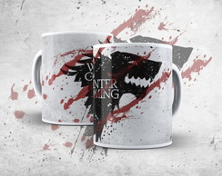 Caneca do Game of Thrones Winter Coming Stark