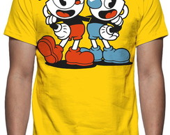 Camiseta Game Cuphead - Estampa Total