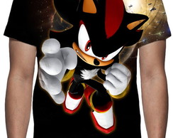 Camiseta Shadow The Hedgehog - Estampa Total