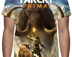 Camiseta Game Farcry Primal - Estampa Total