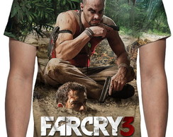 Camiseta Game Farcry 3 - Estampa Total
