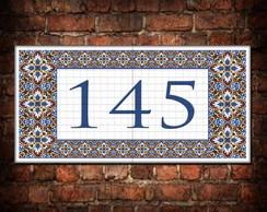 Casa mosaico elo7 for Azulejo numero casa