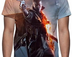 Camiseta Game Battlefield 1 - Estampa Total